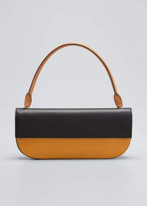Danse Lente Two-Tone Leather Shoulder Bag