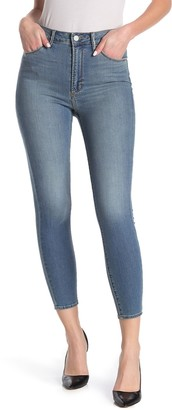 Articles of Society Heather High Waisted Skinny Crop Jeans