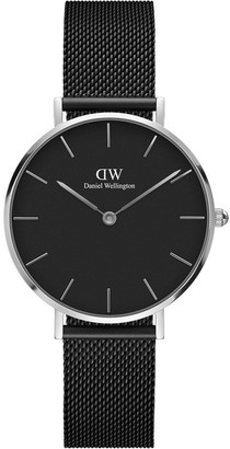 Daniel Wellington Petite Ashfield 32mm Silver Watch