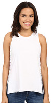 Blank NYC Tank Top with Lace-Up Detail