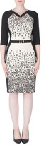 Joseph Ribkoff Printed Inset Dress