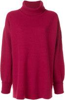 Maison Margiela ribbed turtleneck sweater
