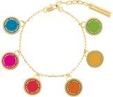 Marc Jacobs multi logo disc charm bracelet