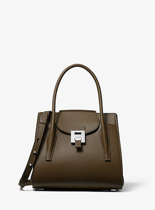 Michael Kors Bancroft Medium Leather Satchel