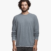 James Perse Doubled Raglan Crew Neck