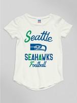 Junk Food Clothing Kids Girls Nfl Seattle Seahawks Tee-sugar-xl