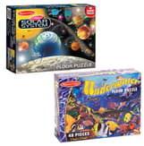 Melissa & Doug Solar System & Underwater Floor Puzzles