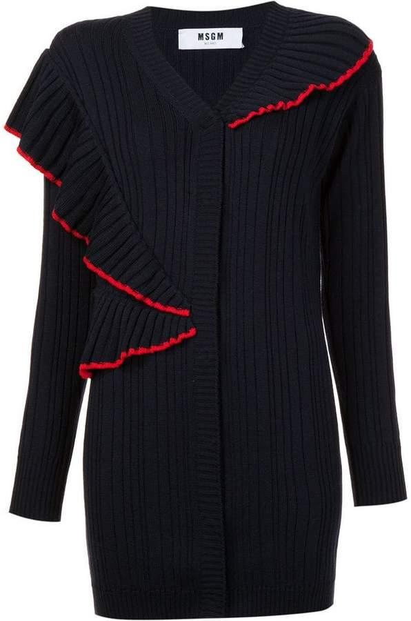 MSGM ruffled cardigan