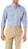 Dockers Mens Long Sleeve Button-Front Shirt