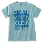 Calvin Klein Abstract Graphic Cotton T-Shirt