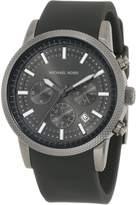 Michael Kors Men's MK8241 Silicone Analog Quartz Watch