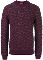 Missoni zigzag pattern jumper