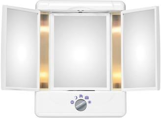 Conair Illumina Collection 3-Panel Lighted Makeup Mirror