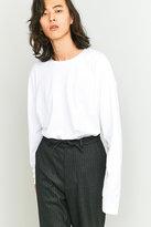 Loom White Tuck-in Long-sleeve T-shirt