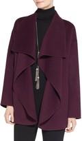 St. John Doubleface Angora Cashmere Coat