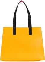 Kenzo patent shopping bag - women - Cotton/Nylon/PVC - One Size