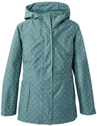 L.L. Bean Women's H2Off Rain Mesh-Lined Jacket, Print