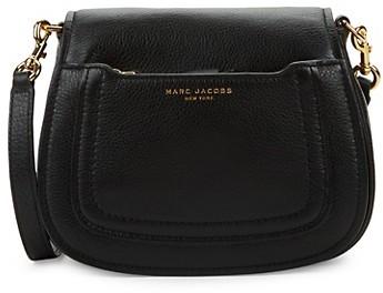 Marc Jacobs Mini Empire City Leather Messenger Bag