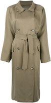 Dusan oversized trenchcoat - women - Silk - One Size