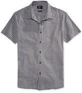 Quiksilver Men's Short-Sleeve Cotton Shirt