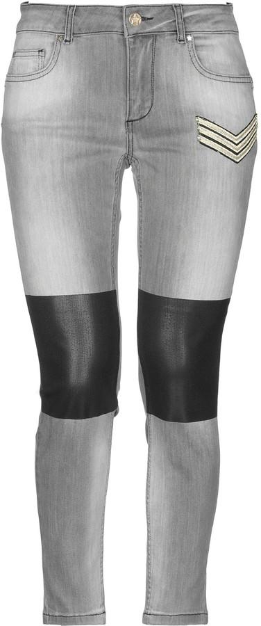 Silvian Heach Denim pants - Item 42700985MJ