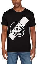 Cheap Monday Men's Standard Tee Stijl Skull T-Shirt