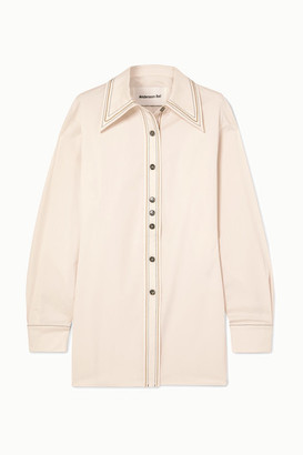ANDERSSON BELL Twill Shirt - Cream