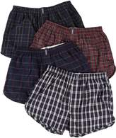 Jockey Men's Underwear Tapered Boxer - 4 Pack