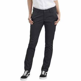 Dickies Women's Straight Flex Twill Pant Khakis