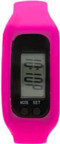 Geneva Platinum Hot Pink Sport Digital Watch