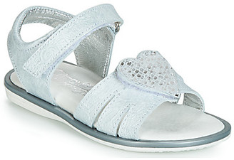Citrouille et Compagnie JAFILOUTE girls's Sandals in Grey