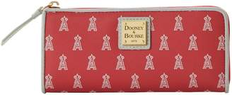 Dooney & Bourke MLB Angels Zip Clutch
