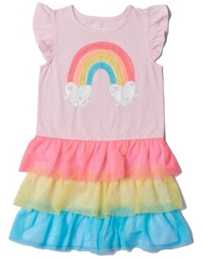 Epic Threads Toddler Girls Color Blocked Tiered Tutu Dress