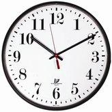 The Chicago Lighthouse Slimline Indoor/Outdoor Quartz Wall Clock