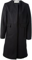Marni collarless coat