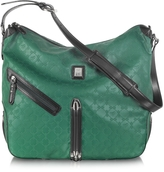 Piero Guidi Every Boly Green Angel Printed Shoulder Bag