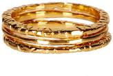 Gorjana Stackable Ring Set- Set of 3 - Size 9