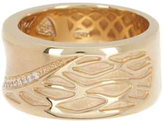 Breuning Sterling Silver & CZ Ring