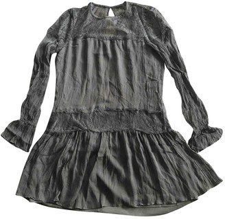 Ramy Brook Black Silk Dress for Women