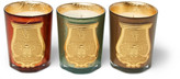 Cire Trudon Gabriel, Gaspard and Bethléem Scented Candle Set, 3 x 100g