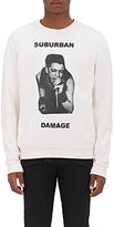 "Enfants Riches Deprimes Men's ""Suburban Damage"" Cotton Fleece Sweatshirt"