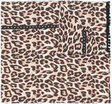 Twin-Set leopard print scarf