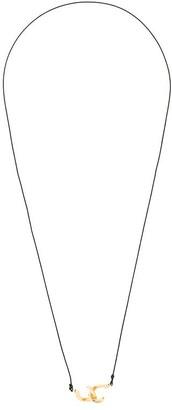 Annelise Michelson Dechainee cord chocker