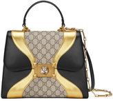 Gucci Supreme GG Leather Handbag and Leather