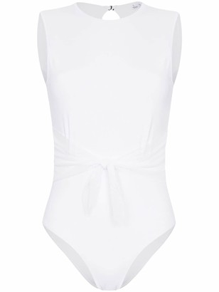 Beth Richards Irene belted swimsuit