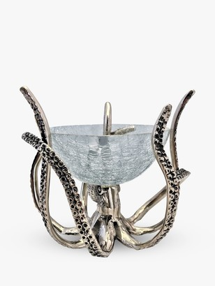 Culinary Concepts Mini Octopus Stand and Glass Bowl, 450ml