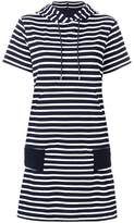 Sacai horizontal stripe T-shirt dress