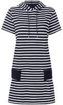 Sacai horizontal stripe T-shirt dress