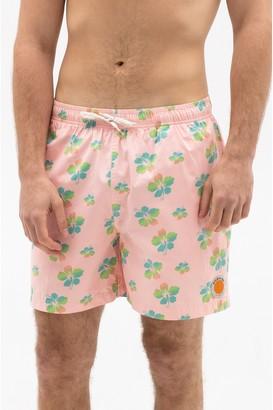 Ambsn Hibiscus Baggie Shorts