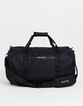 Nicce carryall in black